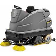 Lavasciuga con uomo a bordo B 250 R  a Pisa. Come utilizzare la lavasciuga. Come rifornire la lavasciuga?