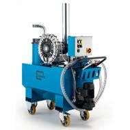 Cosa utilizzare per aspirare olio e trucioli dal pavimento? Esiste un macchinario per rimuovere l'olio o i trucioli.